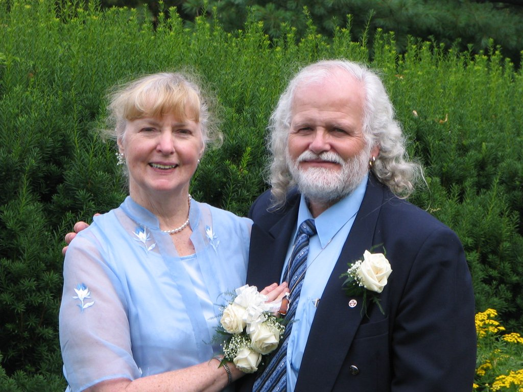 Margaret and Tony get married